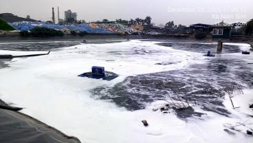 Hà Nội: Bắt đầu thí điểm xử lý mùi tại bãi rác Nam Sơn