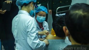 Hoàn thành tiêm thử nghiệm vắc xin Nanocovax cho 40 người đầu tiên