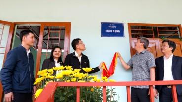 Đồng bào Trà Leng đón Tết cùng những ngôi nhà mới