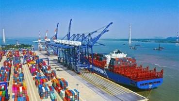 Đề xuất đầu tư 614 tỷ đồng làm đường kết nối cảng Lạch Huyện, Hải Phòng