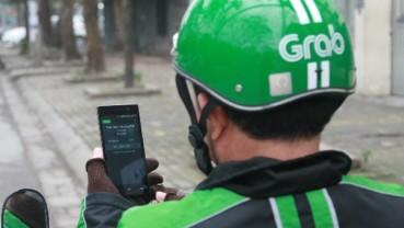Grab tăng giá cước dịch vụ xe hai bánh tại Hà Nội