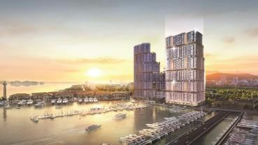 """Tòa tháp mới """"cực phẩm"""" tại Tổ hợp Sun Marina Hạ Long bên vịnh du thuyền chính thức ra mắt"""