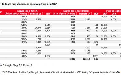 Ngân hàng và doanh nghiệp bất động sản trong cuộc đua tăng vốn