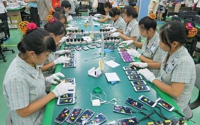 Xuất khẩu điện thoại, linh kiện trong tháng 5 đạt 3,7 tỷ USD