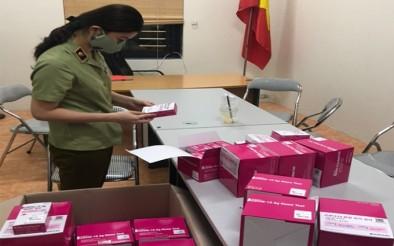 Hà Nội tiếp tục phát hiện cơ sở bán kit test COVID-19 nhập lậu