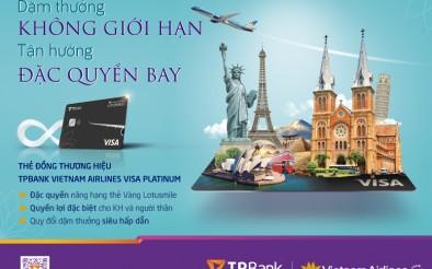 Ra mắt thẻ tín dụng quốc tế TPBank Vietnam Airlines Visa Platinum