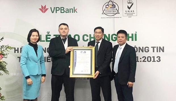 Điều gì khiến VPBank được cấp chứng chỉ quốc tế về an toàn thông tin?