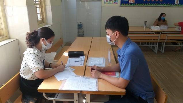 128.879 hồ sơ đăng ký tuyển sinh trực tuyến vào lớp 1 thành công