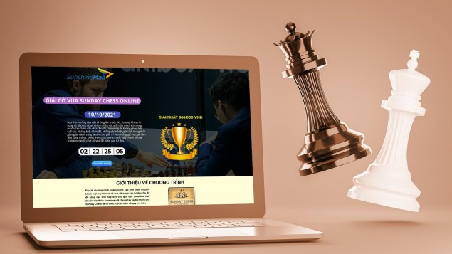 Sunshine Mall đồng hành cùng Sunday Chess Online - Sân chơi hấp dẫn kết nối các kỳ thủ